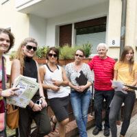 KSG Hannover - Wiesenau Balkonblumenwettbewerb-Jury unterwegs 20