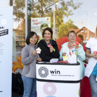 "KSG Hannover - WIN - dm Spendenaktion ""Herz zeigen"" (dm Walsrode"