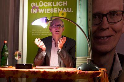"""KSG Hannover - Wiesenau Premierenlesung Autor Thorsen Sueße (""""S"""
