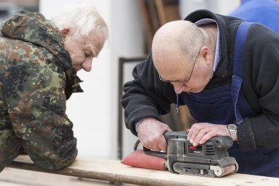 KSG Hannover - Wiesenau - Renovierungen im Quartierstreff 2019-0