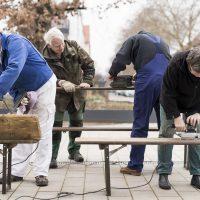 KSG Hannover - Wiesenau - Renovierungen im Quartierstreff 2019-01-16