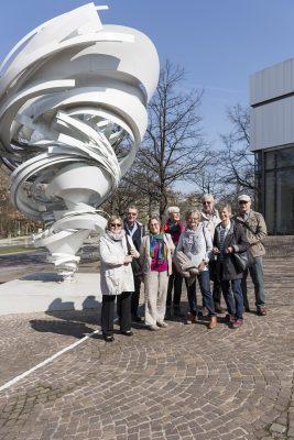 KSG Hannover - Wiesenau Besuch im Sprengelmuseum 2019-03-30