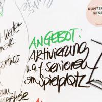"KSG Hannover - Wiesenau ""Kick-Off-Termin Gesund im Quartier"" 201"