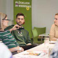 KSG Hannover - Wiesenau Textiler Arbeitskreis Projektstart (Tere