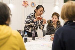 KSG Hannover - Wiesenau asiatische Frauengruppe (Bastelaktion) 2020-01-21