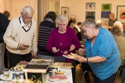 KSG Hannover - Wiesenau Raclette-Abend für die Ehrenamtlichen 2019-12-17
