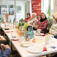 KSG - Wiesenau Frühstück + Infogespräch mit Sarah Jane März (Pflegestützpunkt) 2020-01-31