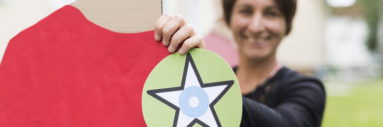 """KSG - """"Stille Stars"""" (Pappfiguren) und Claudia Koch 2020-07-07"""